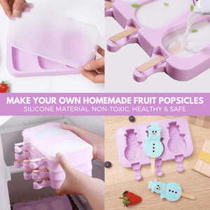 Healthy FUNsicle DIY Popsicle Mold Ice cream mold