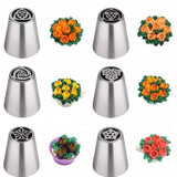 Home 6 pcs Floral Magic™ baking nozzles set (6pcs/11pcs/24pcs set)