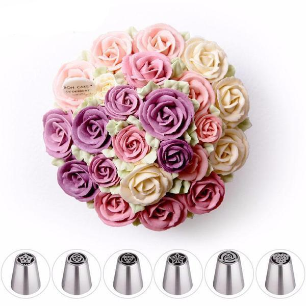 Home Floral Magic™ baking nozzles set (6pcs/11pcs/24pcs set)