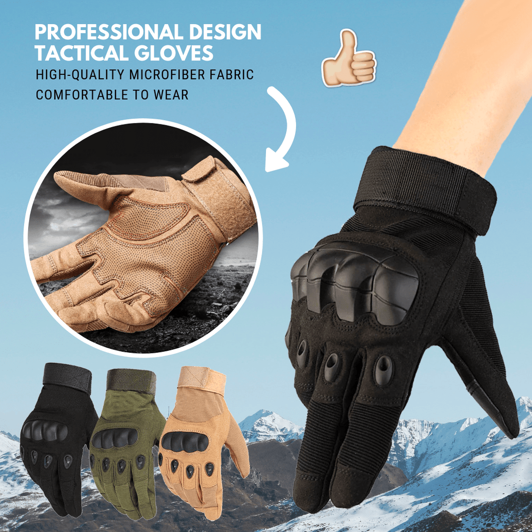 Hot Buy 2019 Tactical Gloves Full finger Black / M Household Gloves