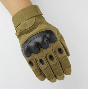 Hot Buy 2019 Tactical Gloves Full finger Brown / M Household Gloves