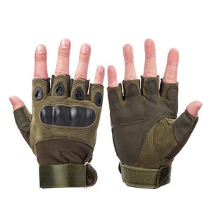 Hot Buy 2019 Tactical Gloves Half finger Green / M Household Gloves