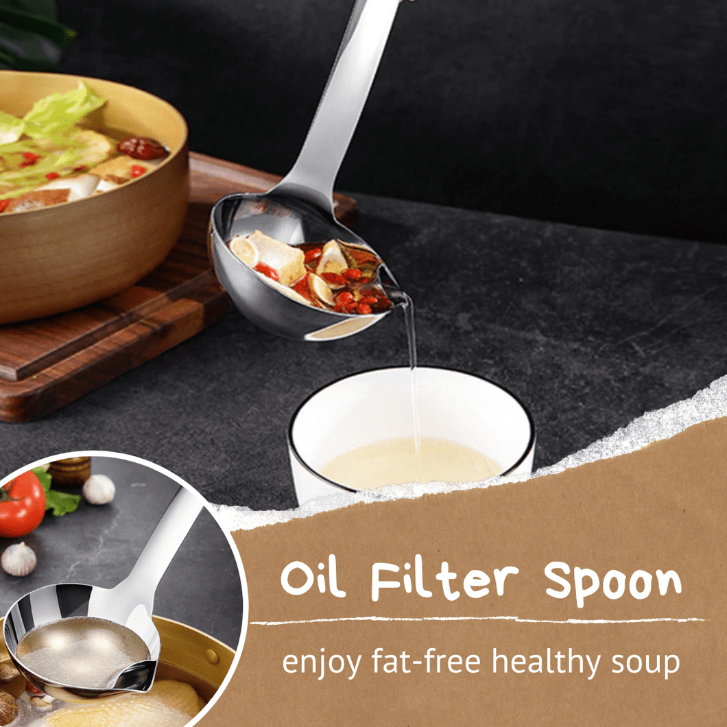 Hot Buy 2020 Healthy Oil Filter Spoon Spoons