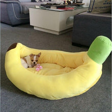 Load image into Gallery viewer, Houses, Kennels & Pens Banana Dog® Comfortable Dog Bed