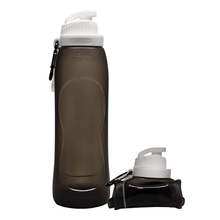 Load image into Gallery viewer, Hydrate PRO® Collapsible Water Bottle Gray Water Bottles