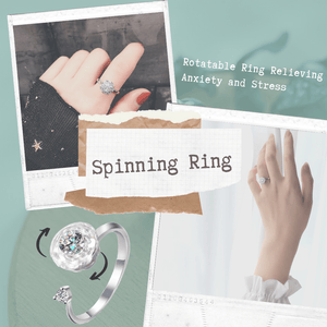 Infinite Glamour - Whirling Ring Rings
