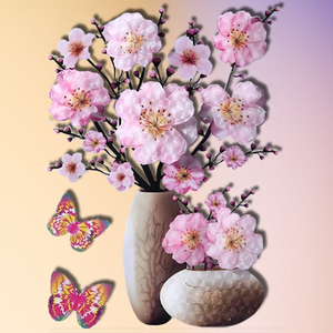 Instant Decor - 3D Flower Wallpapers Flower Wallpapers