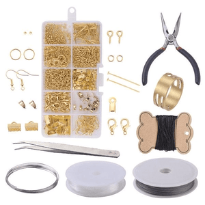 Jewelry Craft - DIY Earrings Set (924 pcs set) DIY Earrings