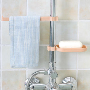 Keep it Neat & Tidy - Sink Clip Pink Soap Holder