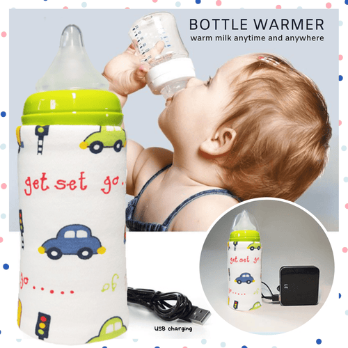 Keep It Warm - USB Charging Bottle Warmer (2 pcs set) Toy car Warmers & Sterilizers