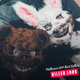 Killer Duo - Bloody Bear & Bunny Mask Killer bear Halloween Masks