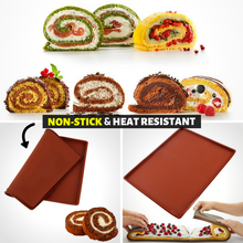 Load image into Gallery viewer, Kitchen Helper - Non-stick Baking Mat Brown Baking Mats & Liners