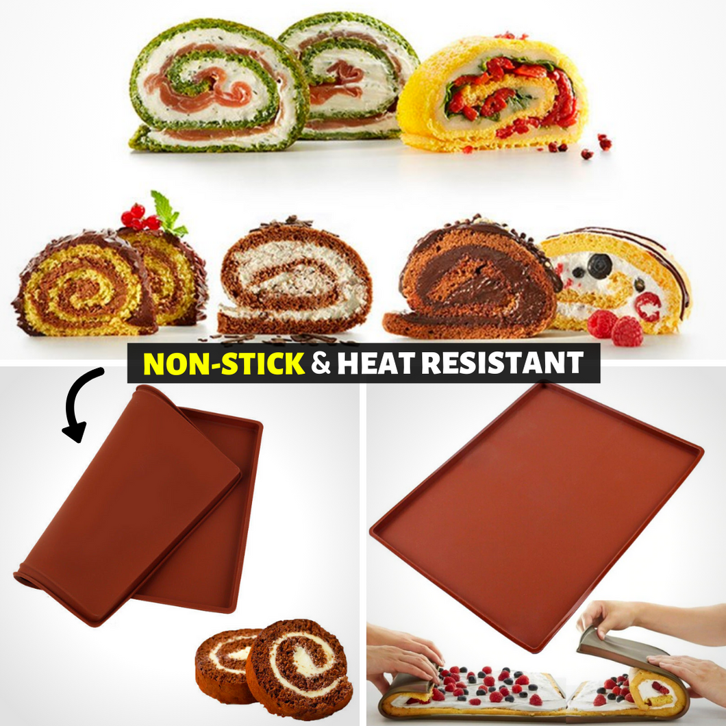 Kitchen Helper - Non-stick Baking Mat Brown Baking Mats & Liners