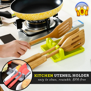 Kitchen Manager - Utensils Holder green Cooking tools