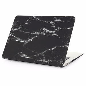 Laptop Bags & Cases Black Marble / For air 11 Luxury Marble Case for MacBook