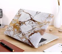 Load image into Gallery viewer, Laptop Bags & Cases Gold Marble / For air 11 Luxury Marble Case for MacBook