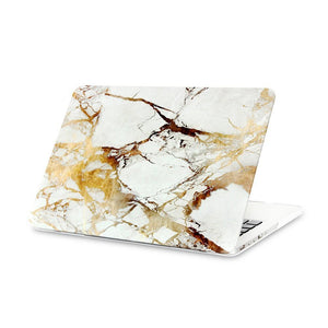 Laptop Bags & Cases Gold Marble / For air 11 Luxury Marble Case for MacBook