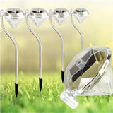 Lawn Lamps Diamo LED Solar Lamps