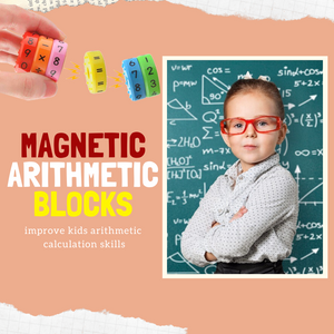 Learning Toy - Magnetic Arithmetic Blocks Educational toy