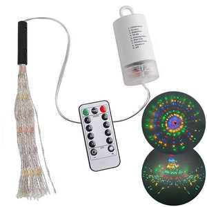 LED String Firework Lights Warm white 120 LEDs Lighting Strings