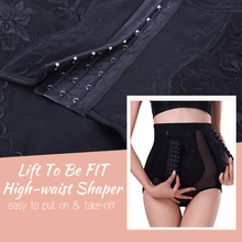 Load image into Gallery viewer, Lift To Be FIT High-Waist Shaper Black / M High waist trainer