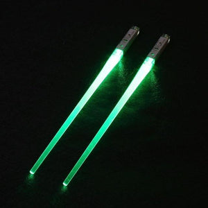 Light-It-Up LED Glowing Chopsticks (1 pair) Green Chopsticks