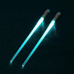 Light-It-Up LED Glowing Chopsticks (1 pair) Light Green Chopsticks