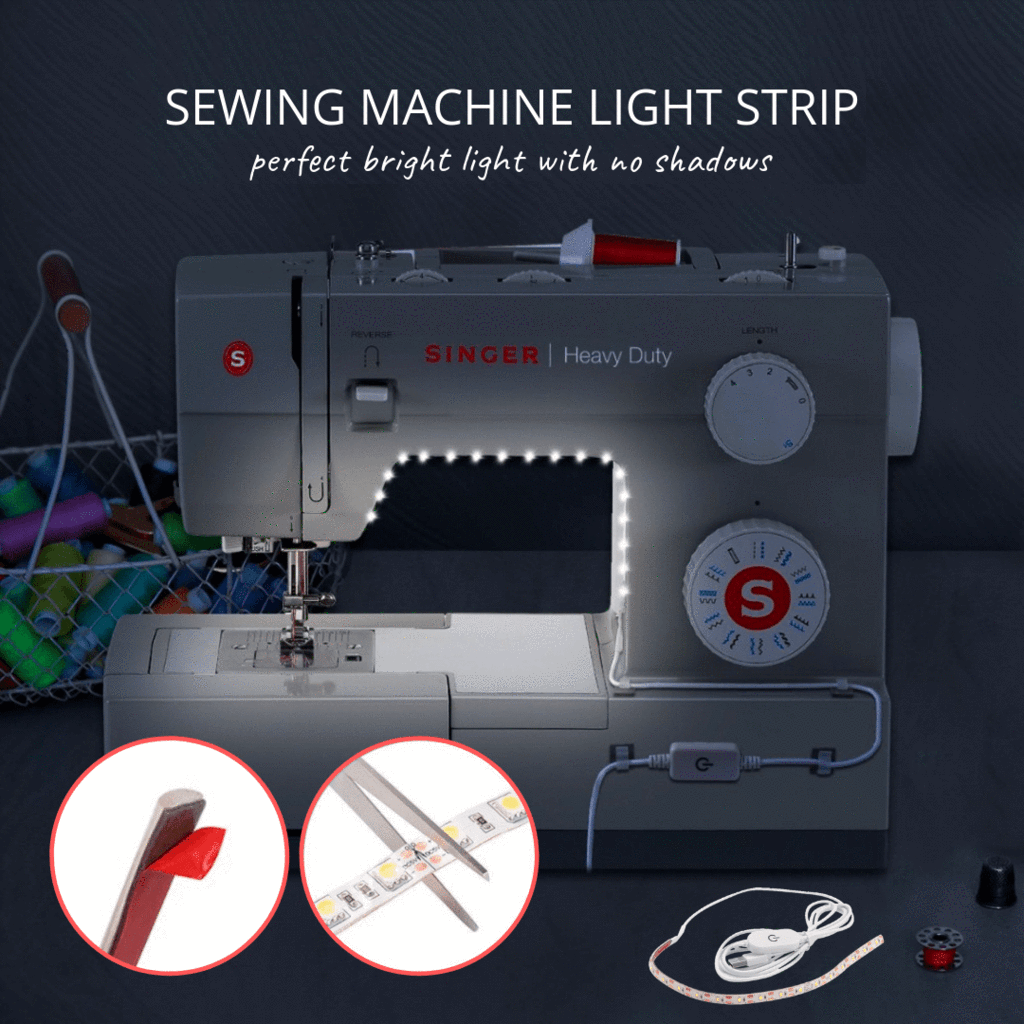 LightUP - Sewing LED Light Daylight white LED Strips
