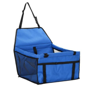 Lovely Folding Pet Carrier Blue Dog Carriers
