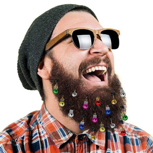 Lumberjack's Christmas Beard Balls (16 pcs) Christmas Beards