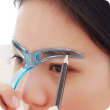 Load image into Gallery viewer, Magic Eyebrow Shaping Stencil Blue Eyebrow Shaping