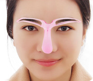 Magic Eyebrow Shaping Stencil Purple Eyebrow Shaping