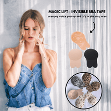 Load image into Gallery viewer, Magic Lift - Invisible Bra Tape (2 pcs set) Beige / S Bra Tape
