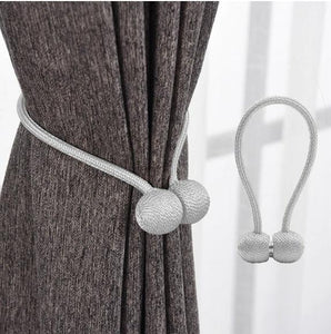 Magnetic Curtain Clips (2 PCS) Silver / S Curtain Clips