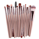 Makeup Brushes & Tools Beige / Bronze Makeup Brush Set