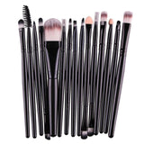 Makeup Brushes & Tools Black / Black Makeup Brush Set