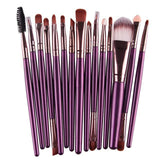 Makeup Brushes & Tools Purple / Bronze Makeup Brush Set