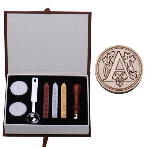 Medieval Wax Seal Kit A Stamps