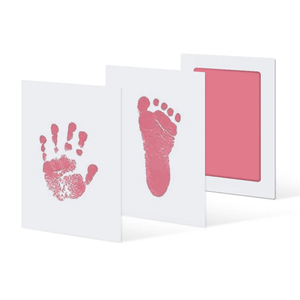 Memory of Love - Baby Hand & Foot Prints Kit (3 pcs set) Pink Hand & Footprint Makers