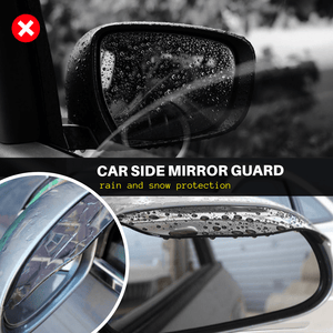 Mirror Guard - Car Side Mirror Protector (2 pcs set) White Car Accessory