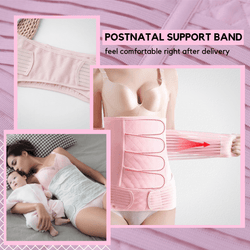 Mother Care® Postnatal Support Belly Band (2 pcs set) Pink / S Belly Shaper
