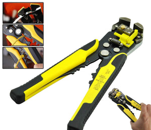 Multi-function 3-in-1 Wire Tool Yellow Pliers