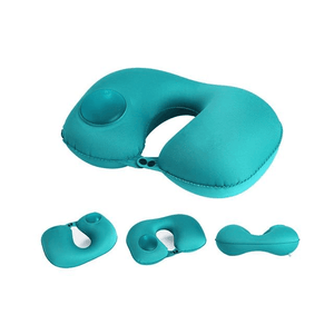 Multi-functional Inflatable Neck Pillow Royal blue Travel Pillows