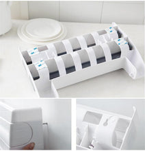 Load image into Gallery viewer, Multi-functional Roll Holder (4 in 1 Rack) Grey Kitchen Ware