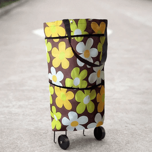 Multi-purpose Easy Carry Shopping Bag Stylish floral Shopping Bags
