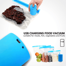 Load image into Gallery viewer, New arrival 2019 FreshMate - Mini Vacuum Sealer Vacuum and bags set Food Vacuum and Bags