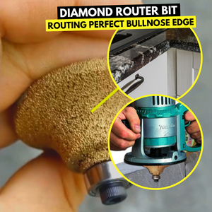 New Generation - Diamond Profile Router Bit Hand Tool Sets
