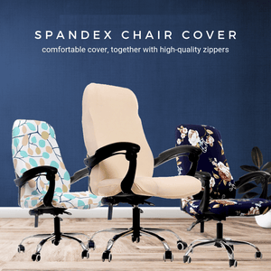 New Generation Spandex Chair Cover (2 pcs set) Classy beige / S Chair Cover