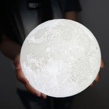 Load image into Gallery viewer, Night Lights 3D Printed Magical Moon Night Light