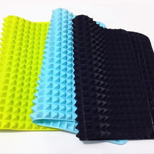 Non-Stick & Oil Reduction Cooking Mat Blue / M Baking Inserts